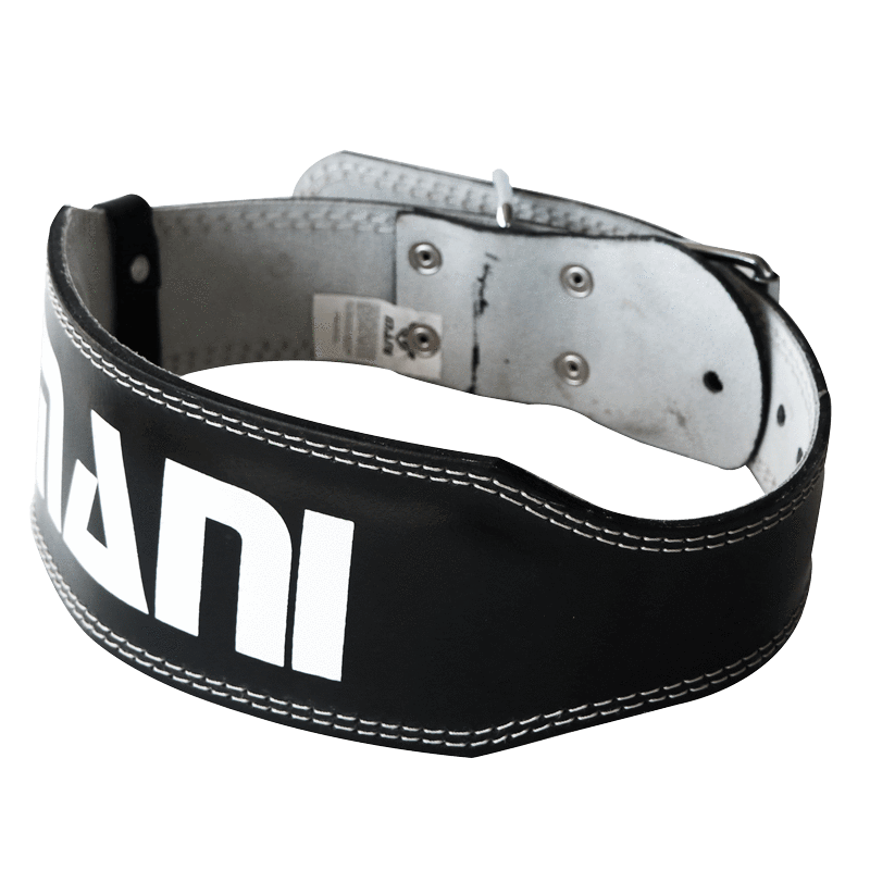 Leather 4 Inch Weight Training Belt