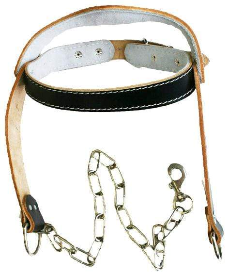 Leather Head Harness for Neck Strengthening