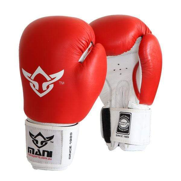 Leather Pro-Sparring Boxing Gloves