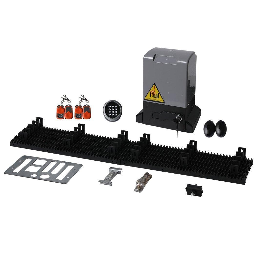 Sliding Gate Opener 1500Kg 4M Automatic Motor Remote App Control Key Pad Kit