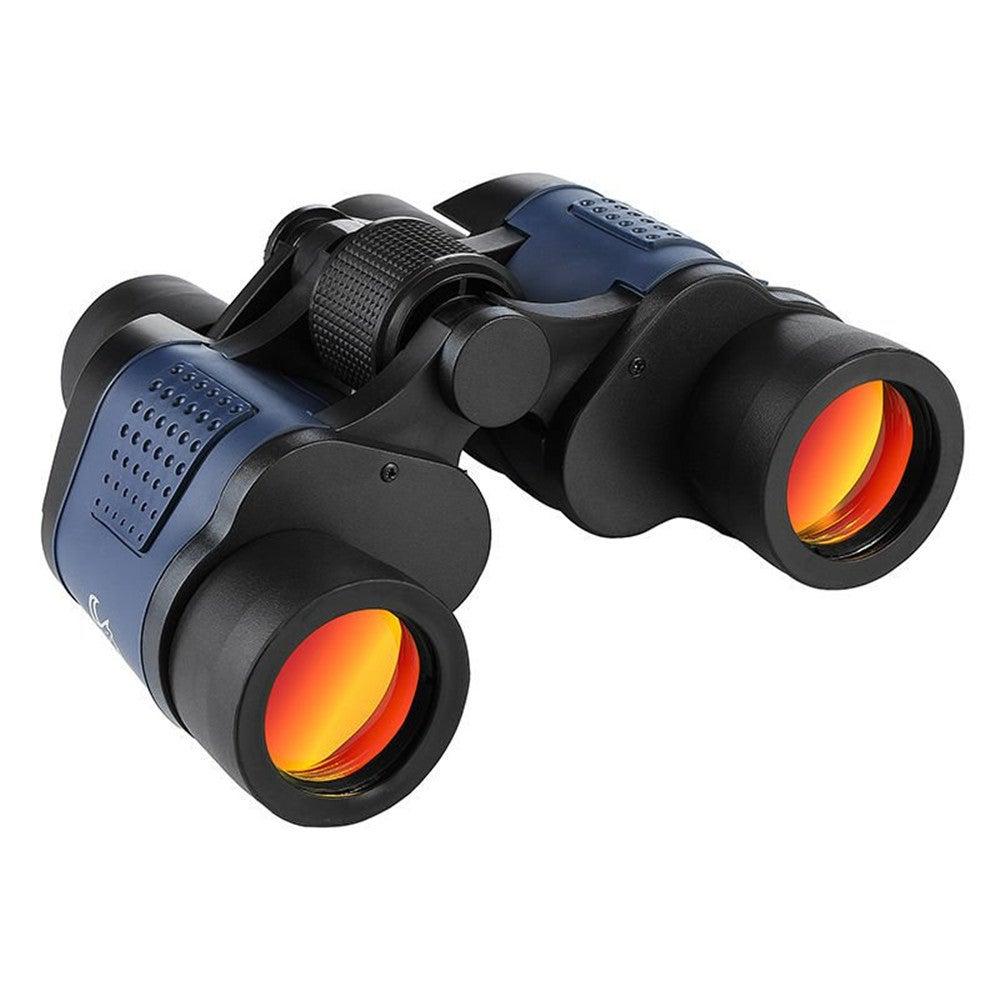 60x60 Day/Night Telescope Zoom Ultra HD Binoculars for Hunting Camping black