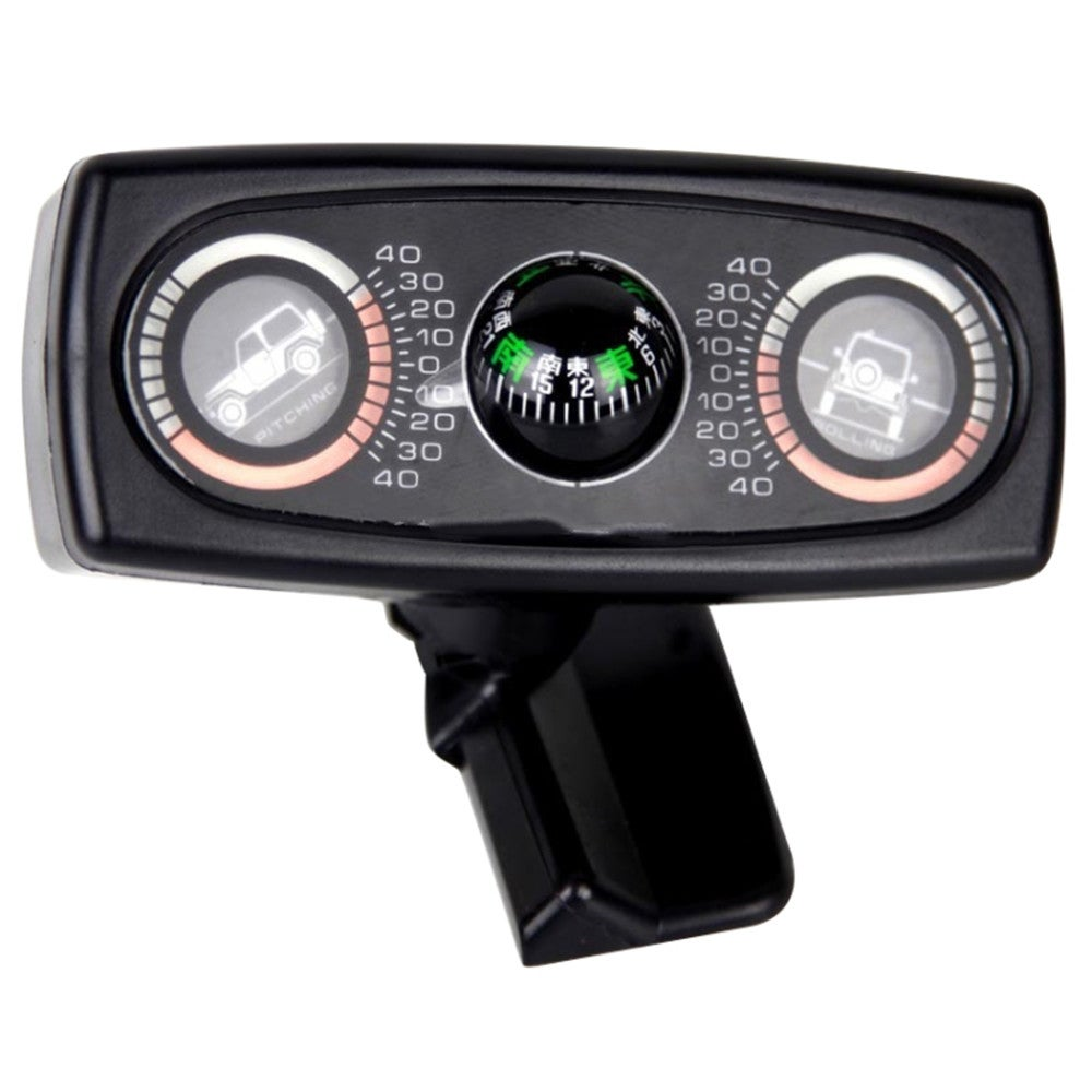 Car Compass Balance Meter Level Car Slope Meter Three-in-one