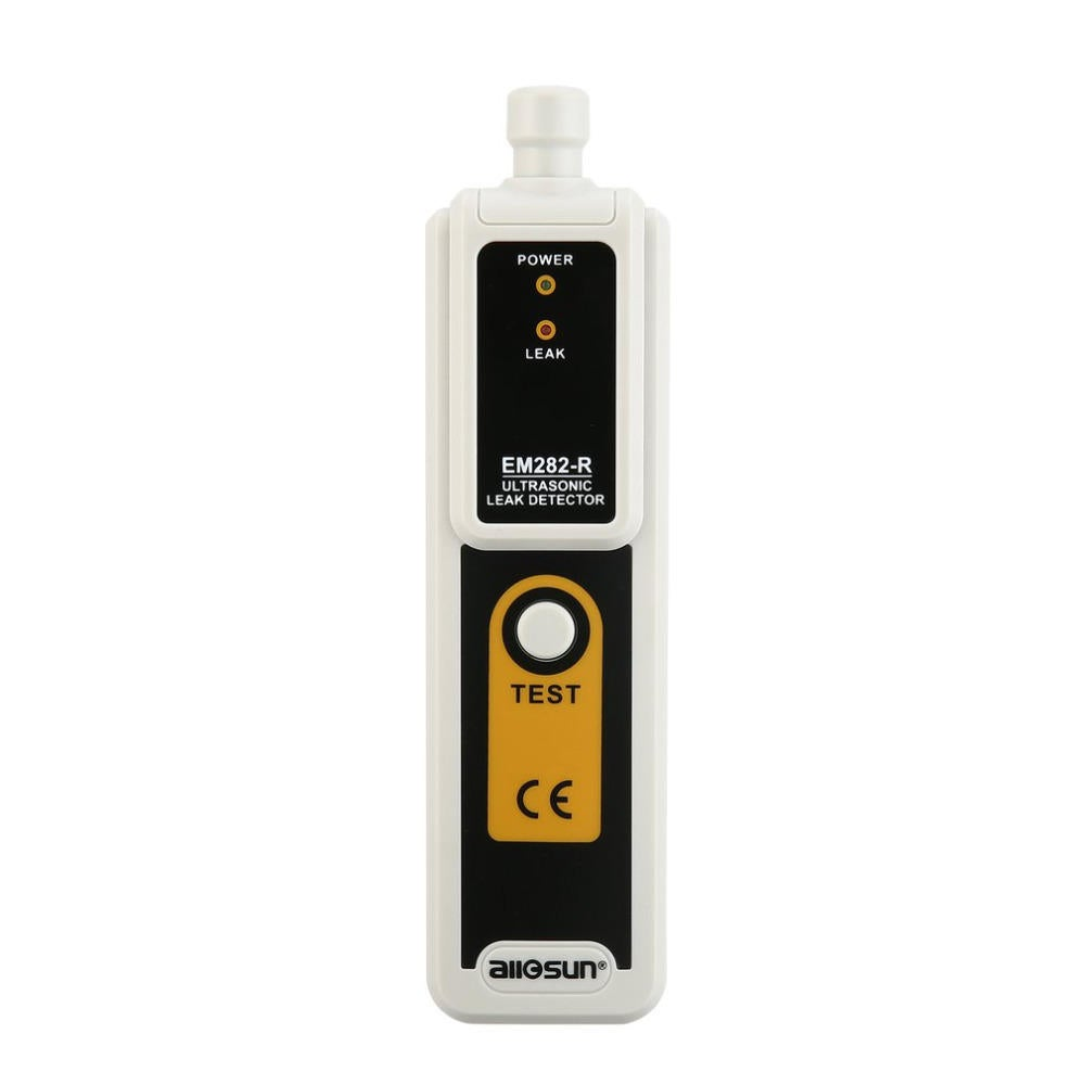 EM282 Ultrasonic Leak Detector 40KHz Transmitter Reliable Detection Gas Liquid Leakage Monitor LED Indicator