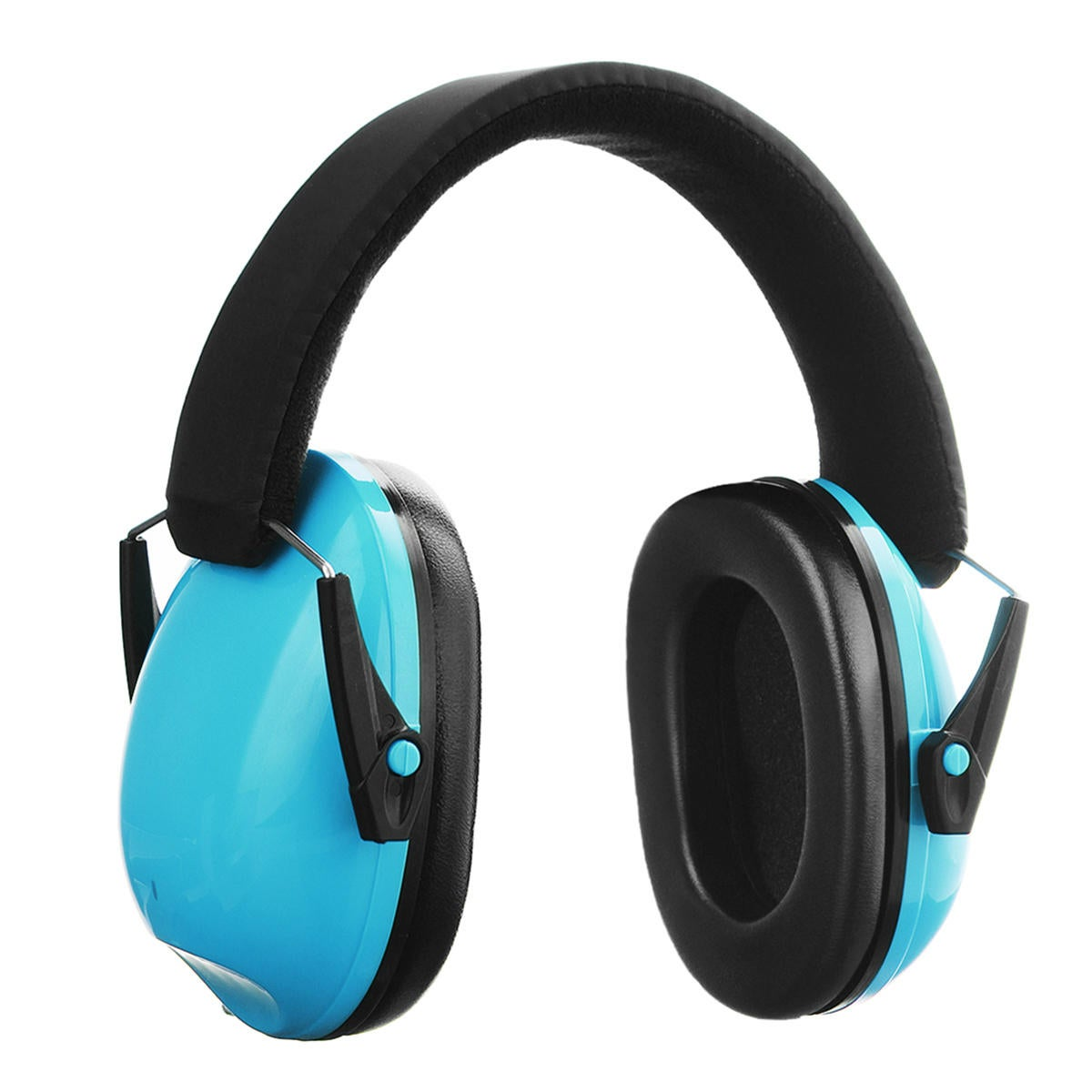 Kids Ear Muffs Hearing Protection Noise Reduction Children Ear Defenders Safety Earphone BLUE COLOR