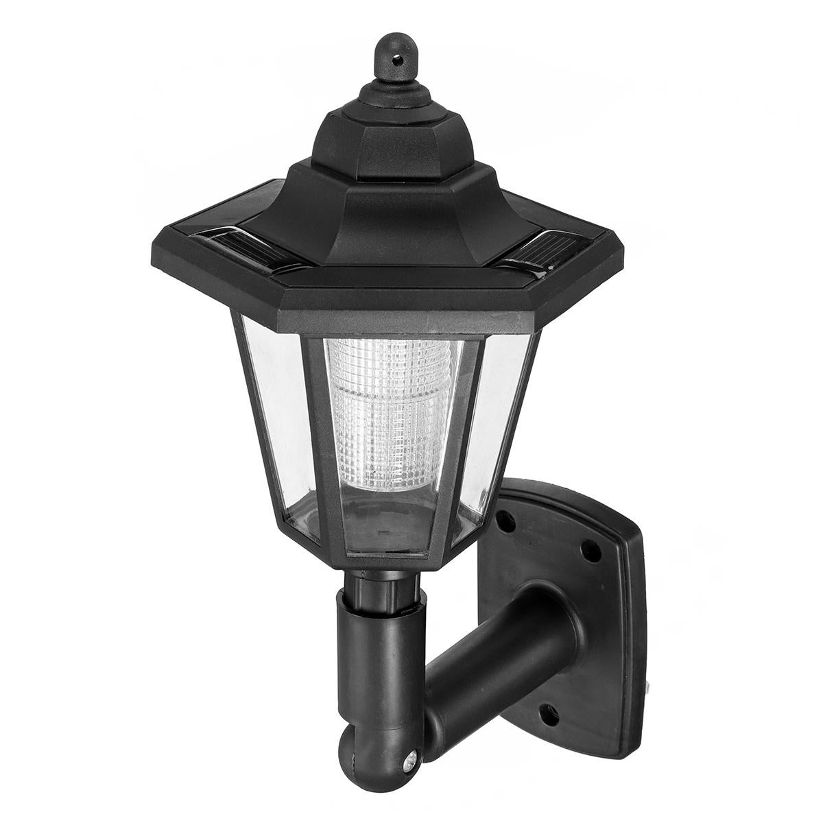 Outdoor Garden LED Solar Power Path Wall Light Lawn Landscape Security Lamp