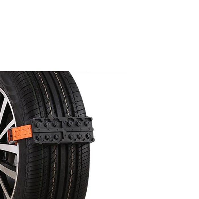 Universal Car Snow Chains Mud Tires Traction Mat Wheel Chain Non-slip Tracks Auto Winter Road Turnaround Tool Anti Slip Grip Tracks