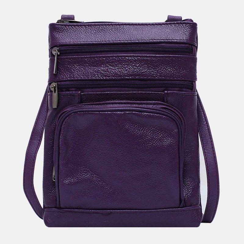 Women Multi-Pocket Multifunctional Shoulder Bag Crossbody Bag