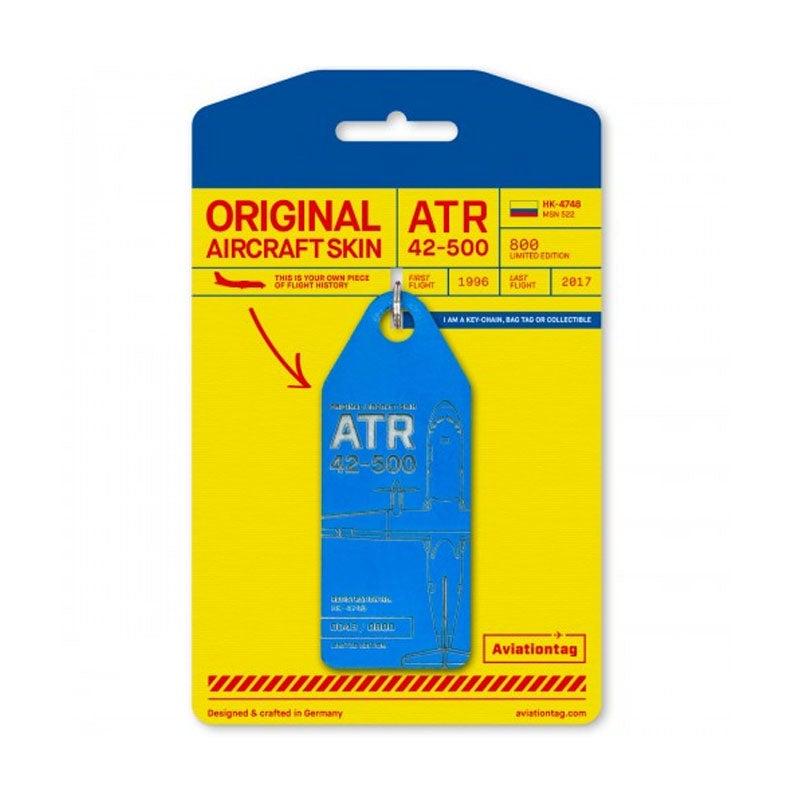 ATR 42 Satena Aviation Tag - Blue