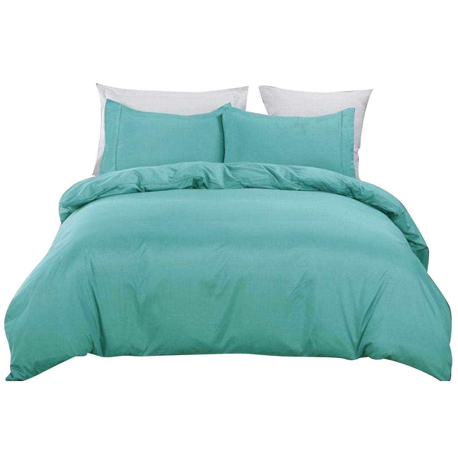 Icy Blue Soft Quilt Doona Cover Set 5 Size