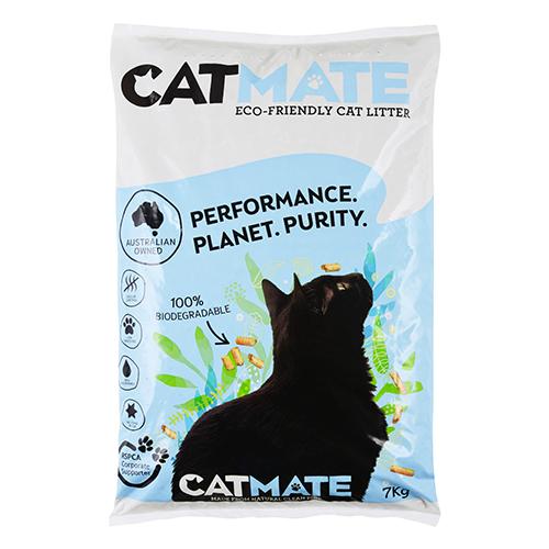 Catmate Wood Pellet Eco Friendly Kitten Cat Pet Litter 7kg