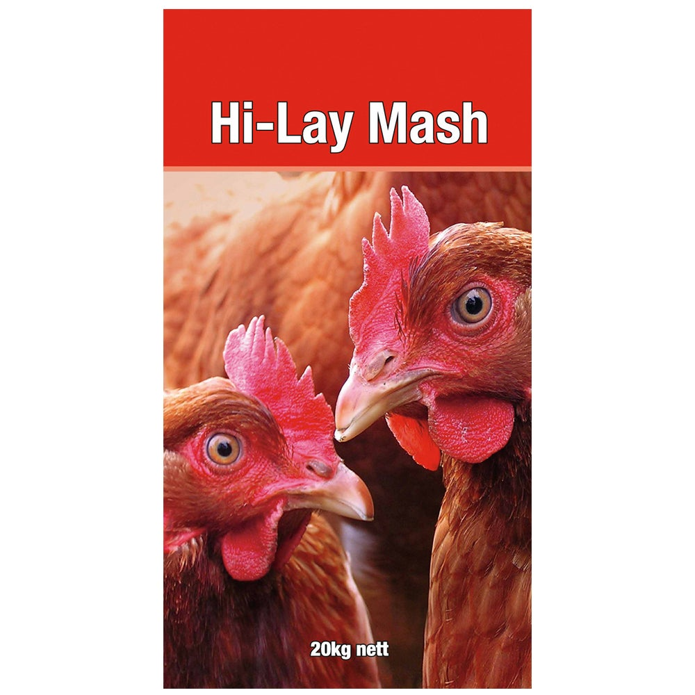 Laucke Hi Lay Mash Poultry Feeds 20kg