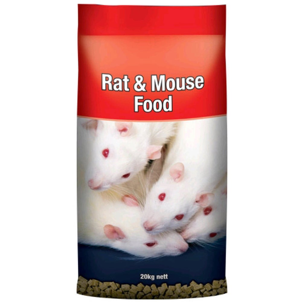 Laucke Rat & Mouse Protein & Energy Square Nut Food 20kg