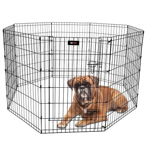 Rac Metal Indoor & Outdoor Pet Dog Safety Pen Large