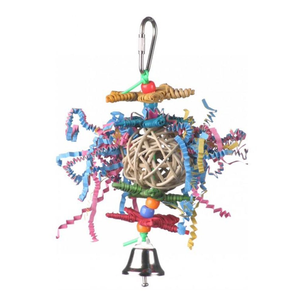 SuperBird Crinkle Crinkle Little Star Bird Toy 13 x 5cm