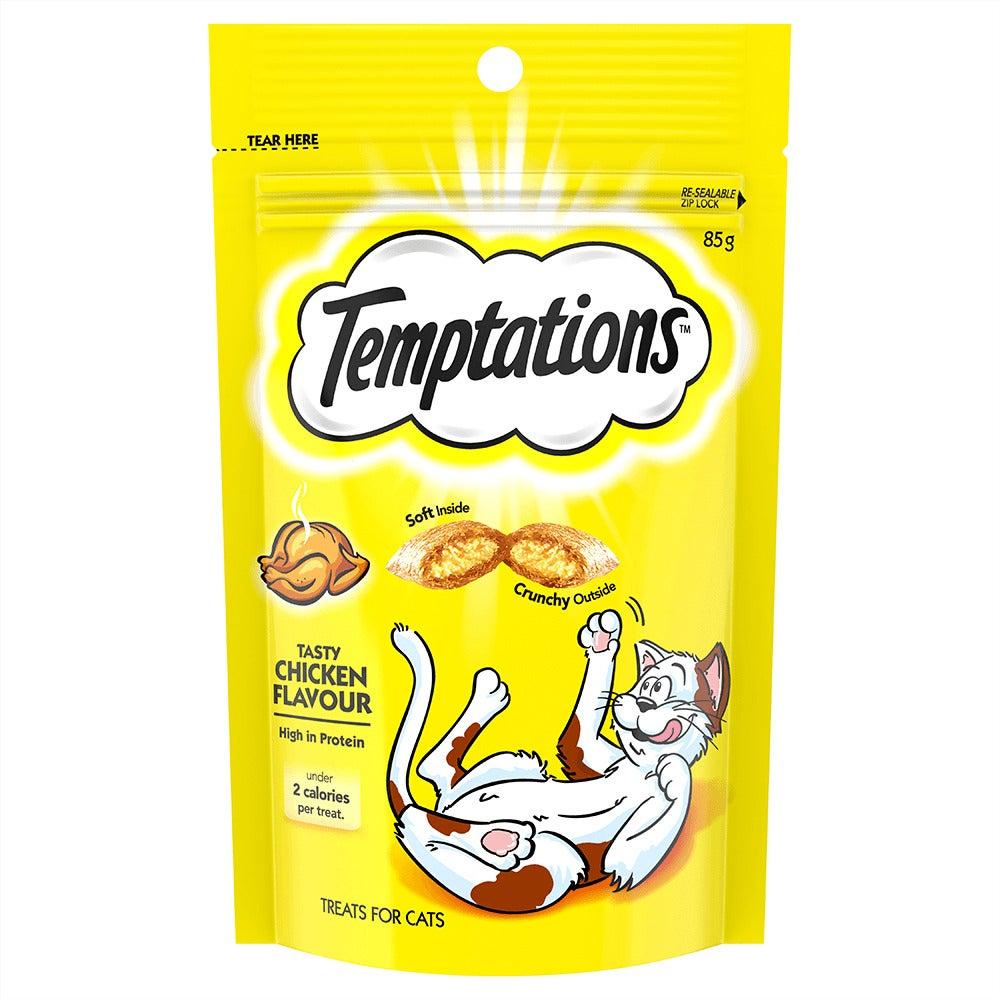 Temptations High Protein Cat Treats Tasty Chicken - 3 Sizes