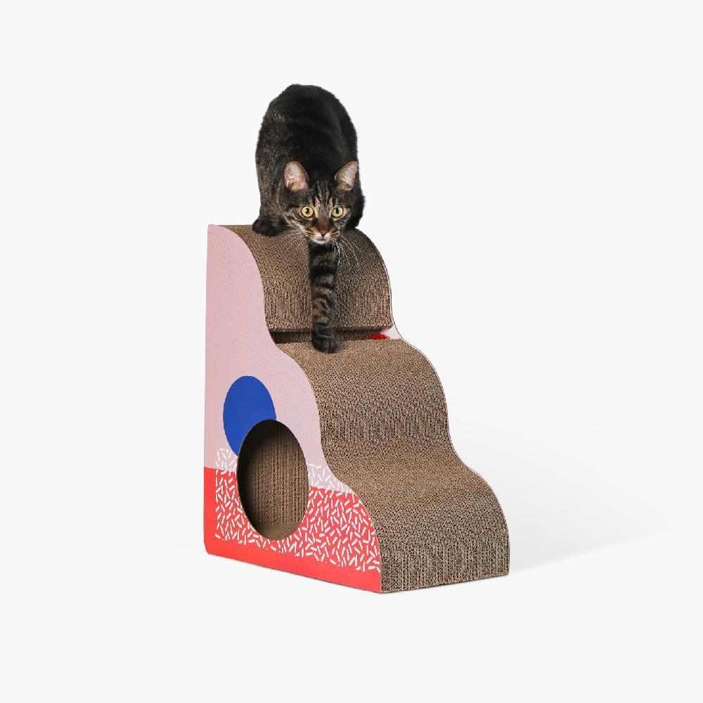 Pidan Cat Scratcher (Memphis) - Triangle