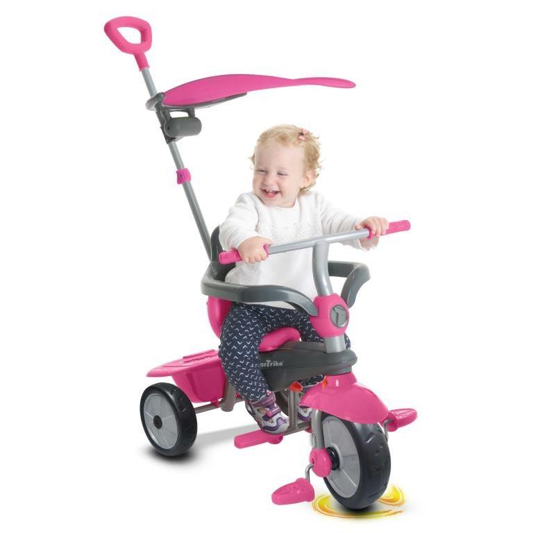 Carnival Pink 3 In 1 Trike