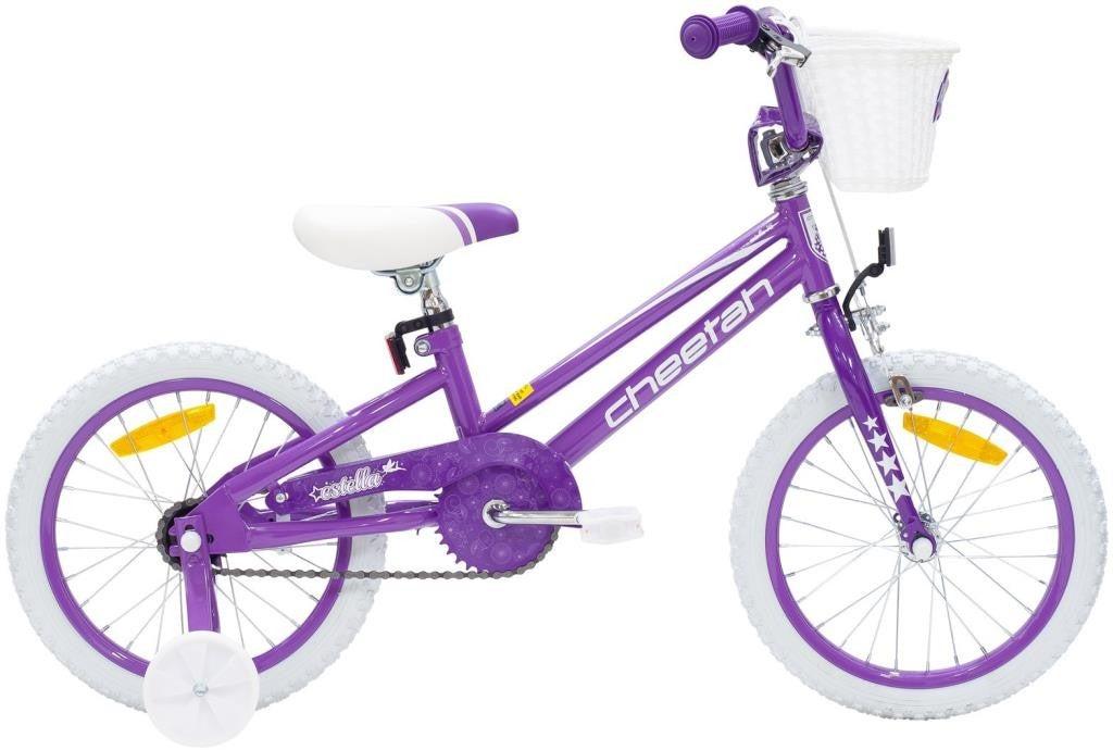 Cheetah - Estella Girls 16 Inch Pearl Lavender/Purple/White