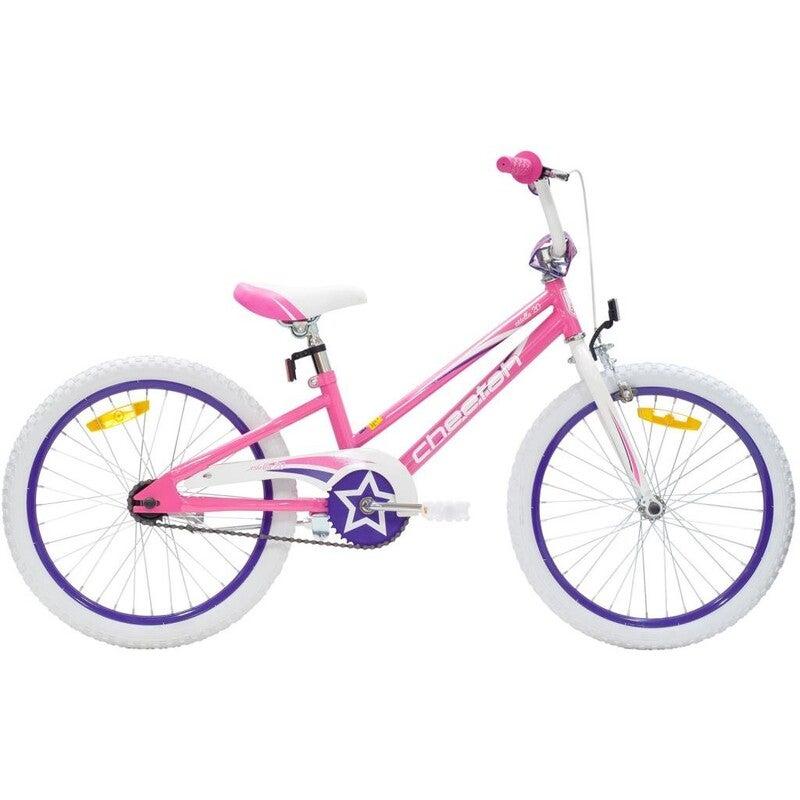 Cheetah - Estella Girls 20 Inch Gloss Pink/White/Purple