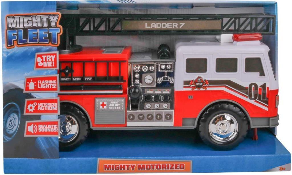 Mighty Fleet Motorized Fire Ladder Truck