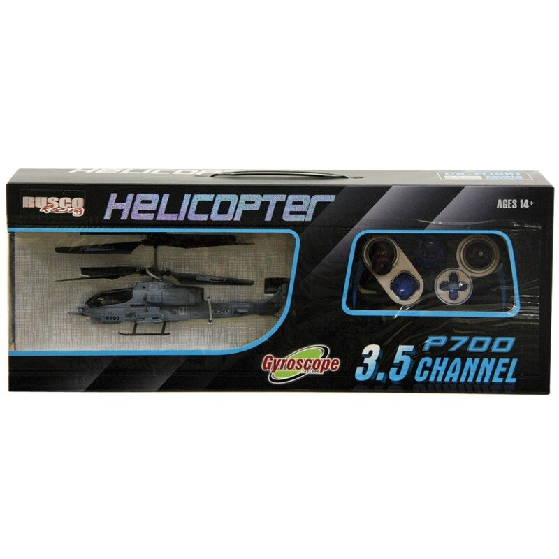 Rusco Helicopter P700 3.5 Channel