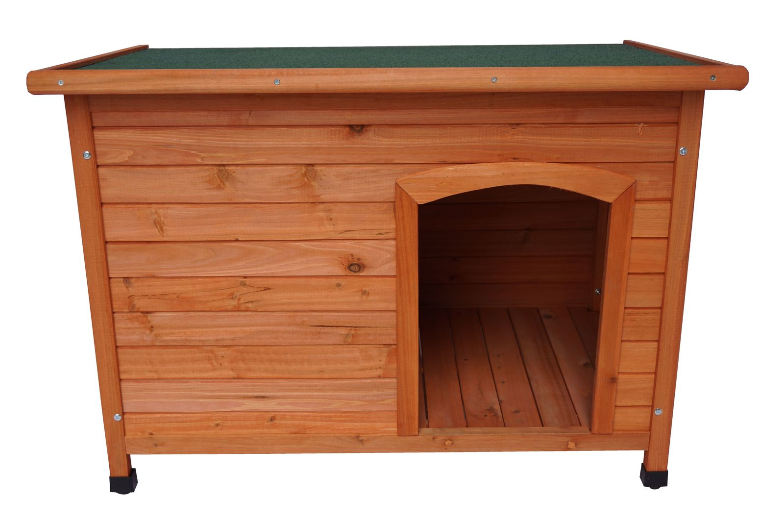 Medium Timber Pet Dog Wooden Cabin Kennel House