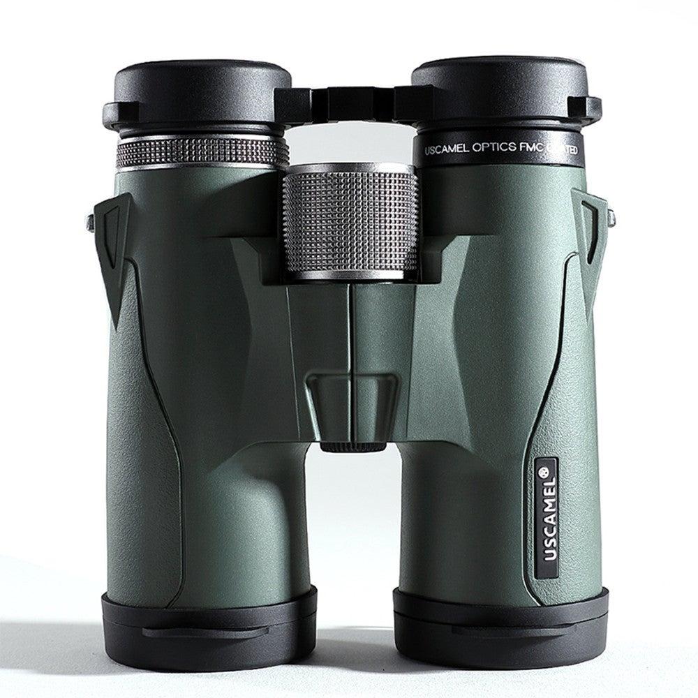 10x42 HD BAK4 Binoculars Military High Power Telescope Professional Hunting Outdoor Sports Bird Watching Camping