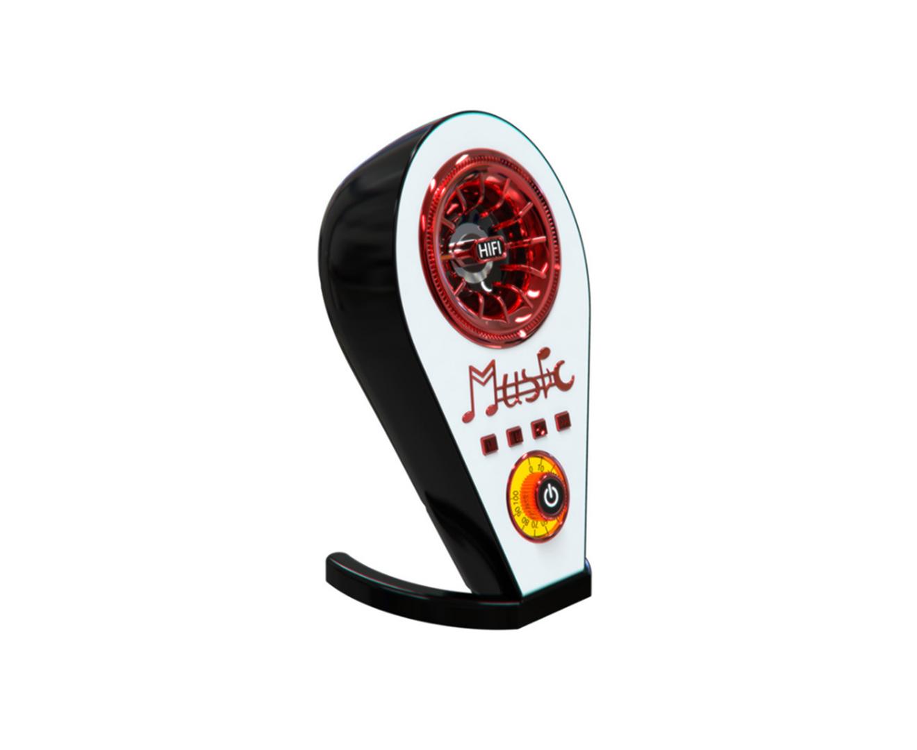 1658# Outdoor Bluetooth Sound Creative Retro Speaker TWS Multifunctional Bluetooth Subwoofer