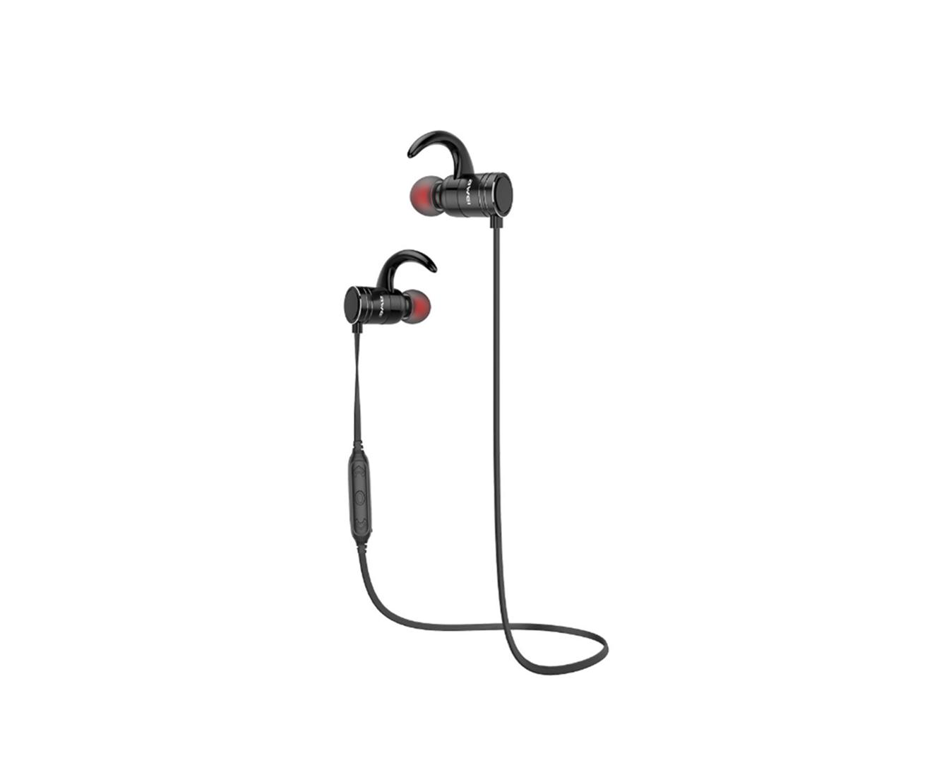 AK7 Smart Wireless Stereo Bluetooth Headset Magnetic Switch Sports Mini Metal In-ear Earplugs