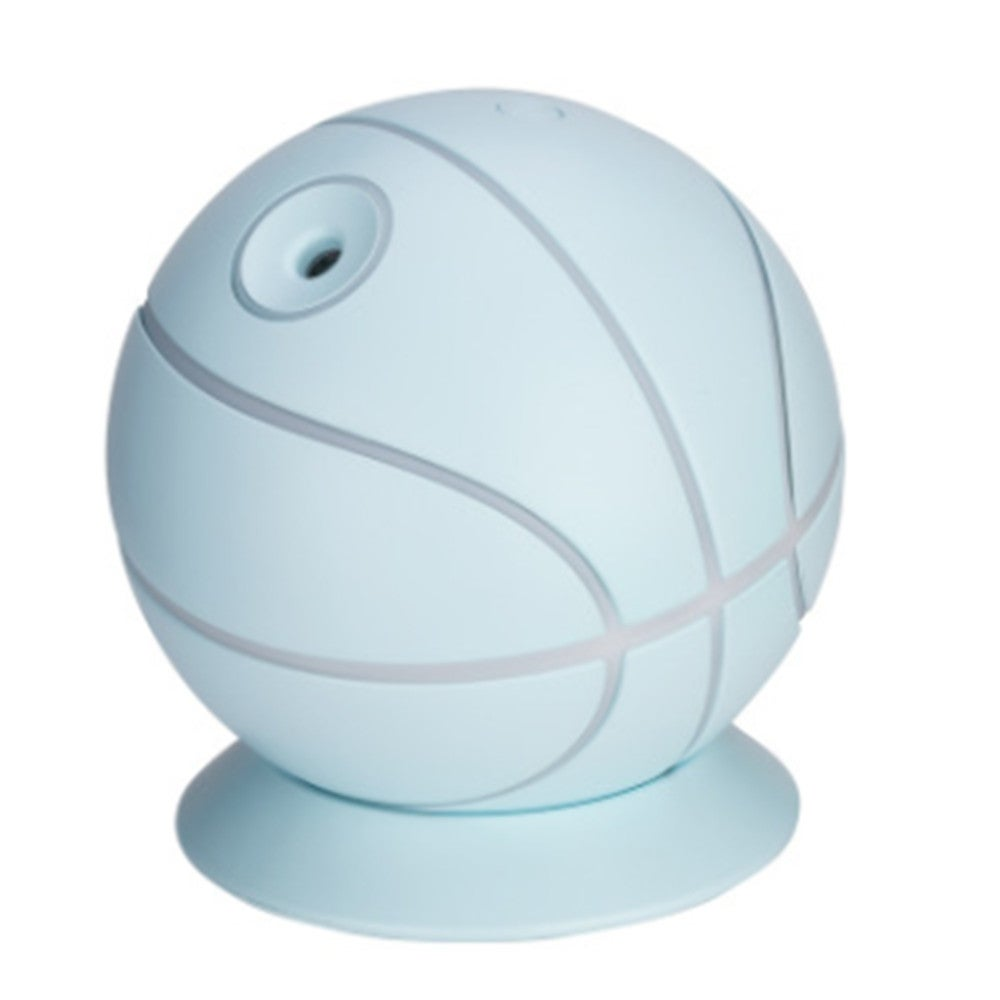Basketball USB Air Humidifiers Aroma Diffuser Mist Maker(Blue)