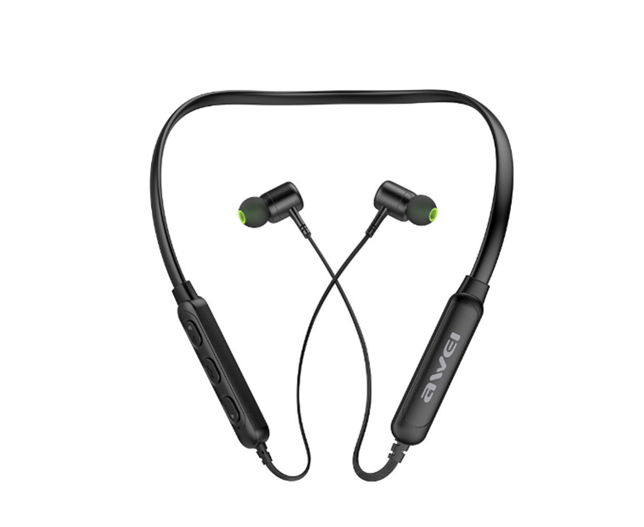 G30BL Hanging Neck Magnetic Sports Bluetooth Headset 4.2 Wireless Mobile Phone Headset In-ear Earplugs