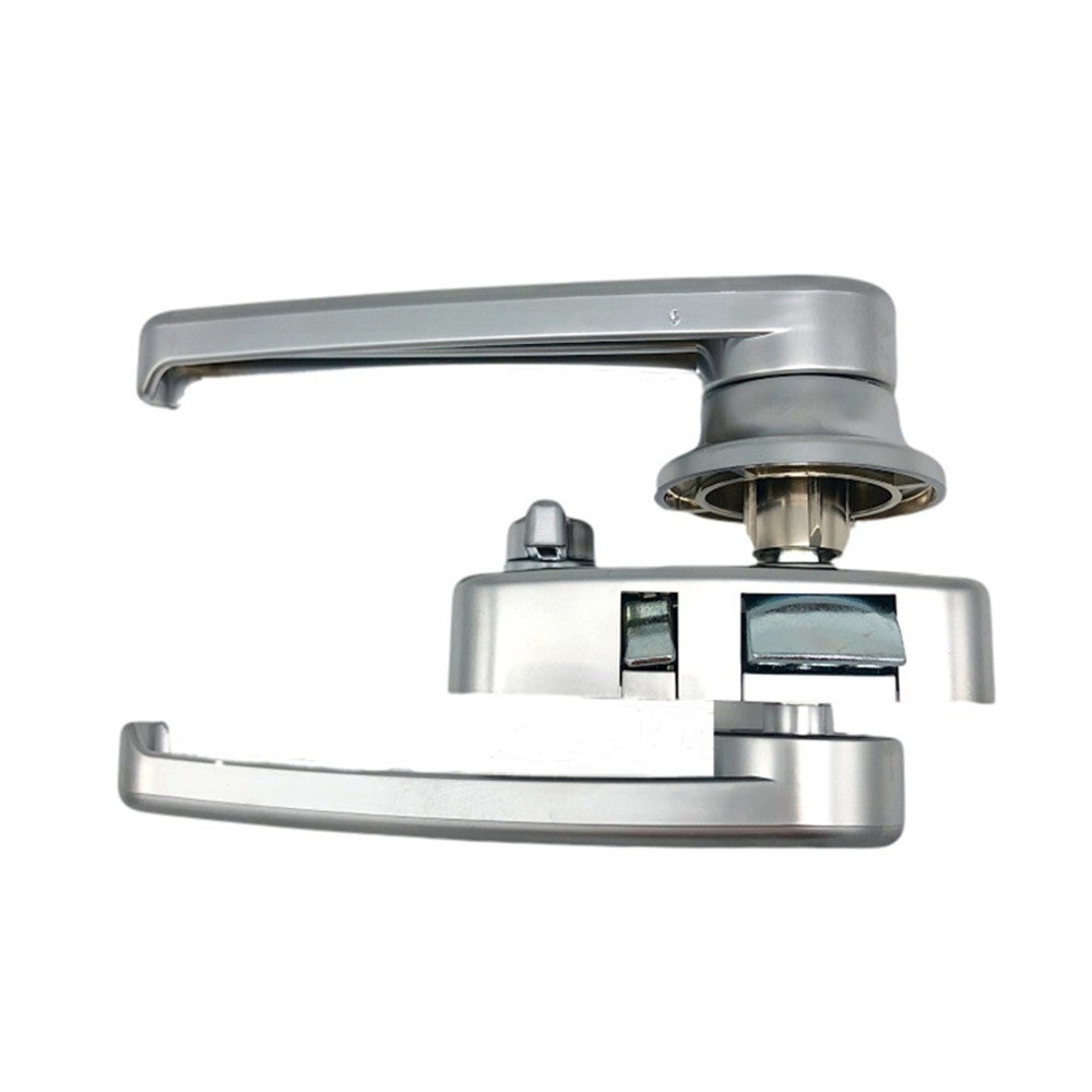 RV Toilet Door Lock Bathroom Door Lock RV Caravan Boat Latch Handle Knob Locks 1XCF
