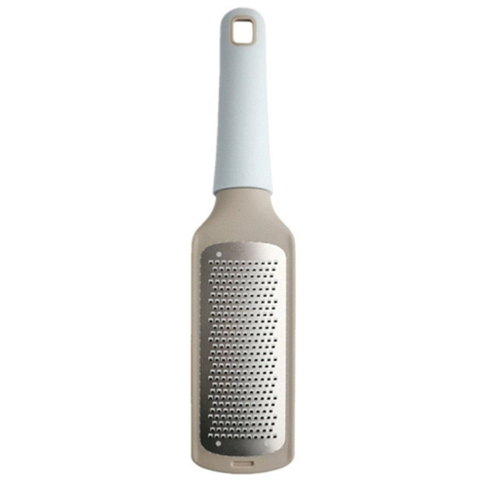 Stainless Steel Cheese Grater Lemon Fruit Grater Cheese Grinder Chocolate Grater Vegetable Peeler(Blue)