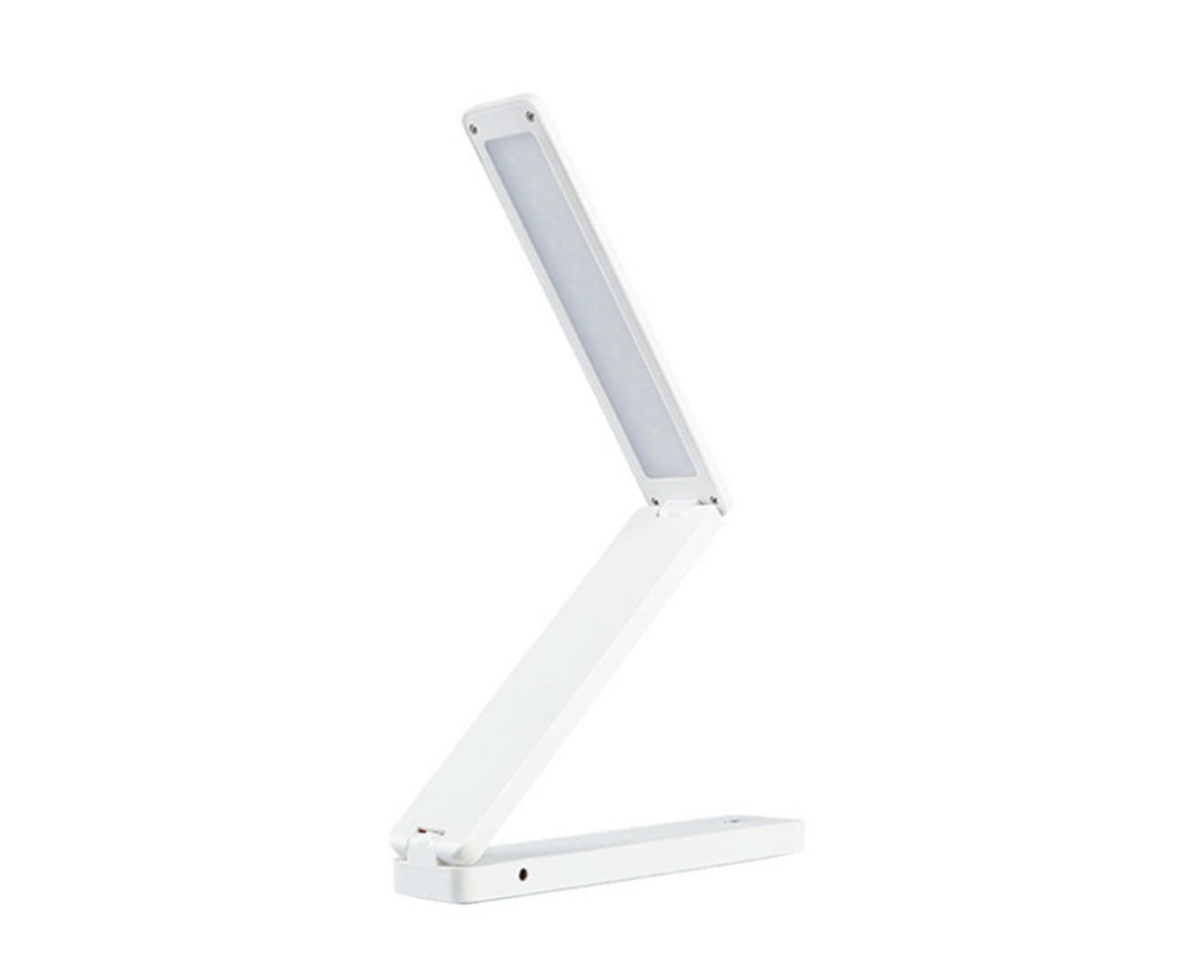 Tri-fold LED Eye Protection Desk Lamp Battery USB Dual-use Adjustable Desk Lamp Folding Lamp