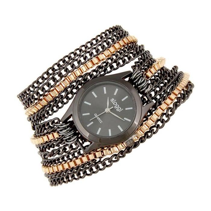 Women Circle Alloy Bracelet Quartz Watch