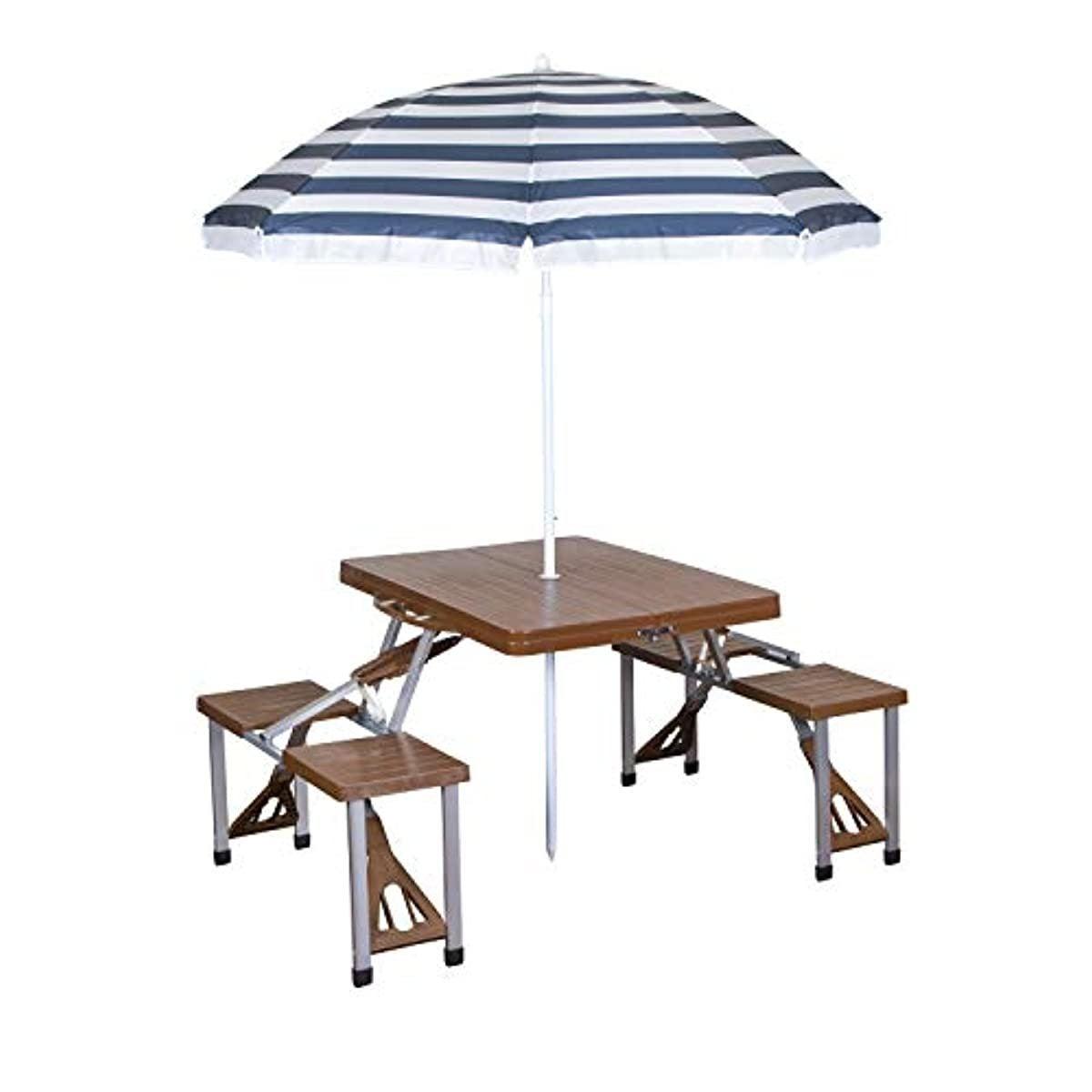 Picnic Table and Umbrella Comb