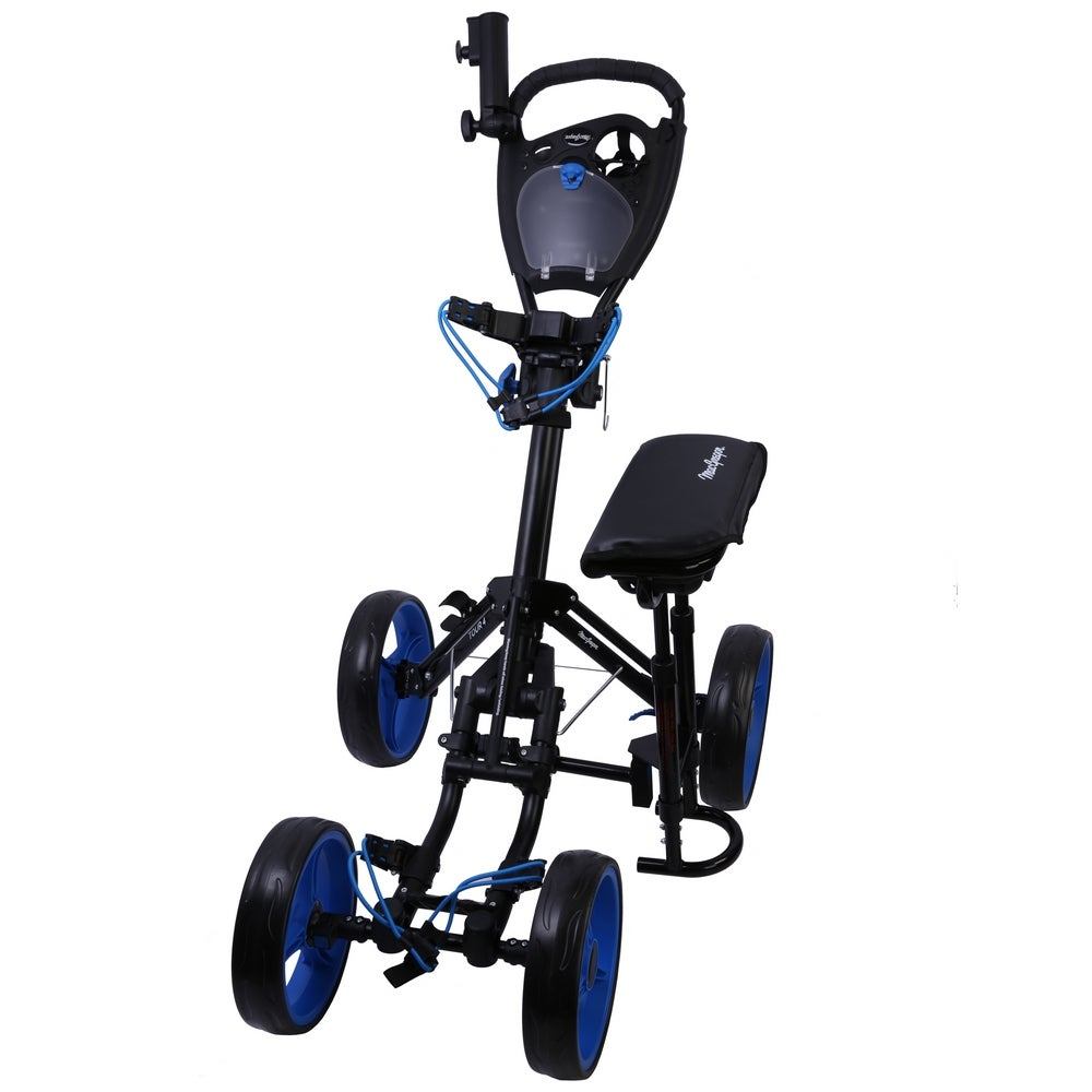 MacGregor Deluxe VIP 4 Wheel Golf Buggy / Trolley With Seat