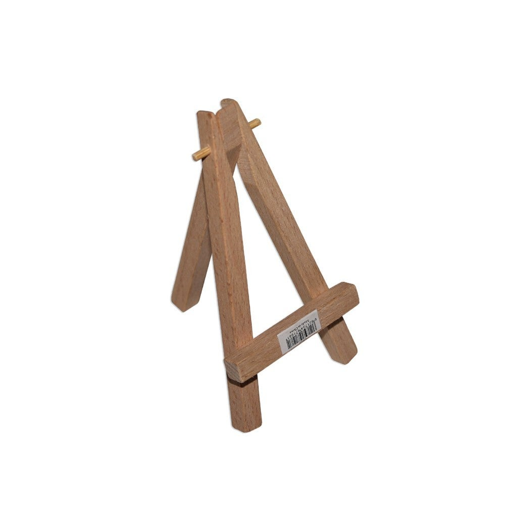 1pce 6cm Small Timber Easel Natural Colour Cute Craft Stand