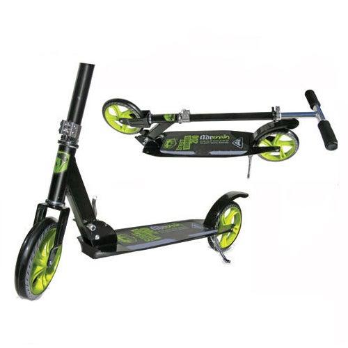Adrenalin Street Runner 200 Kids & Adult Push Scooter - Black