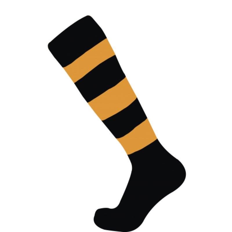 BUFFALO SPORTS FINE GAUGE SOCKS - AFL FOOTBALL RUGBY SOCCER HOCKEY - 27 COLOURS