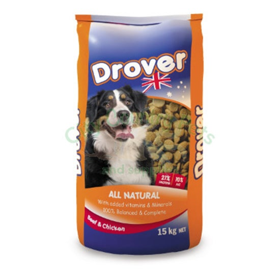COPRICE DROVER DOG FOOD 15KG (36) (DC15D)