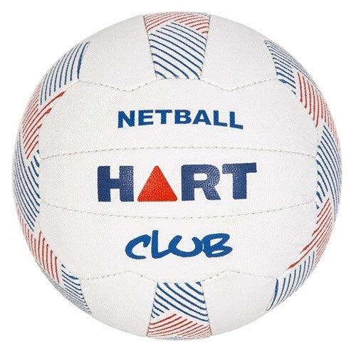 HART CLUB NETBALL - DURABLE EMBOSSED PIMPLE SURFACE PROVIDES EXCELLENT GRIP