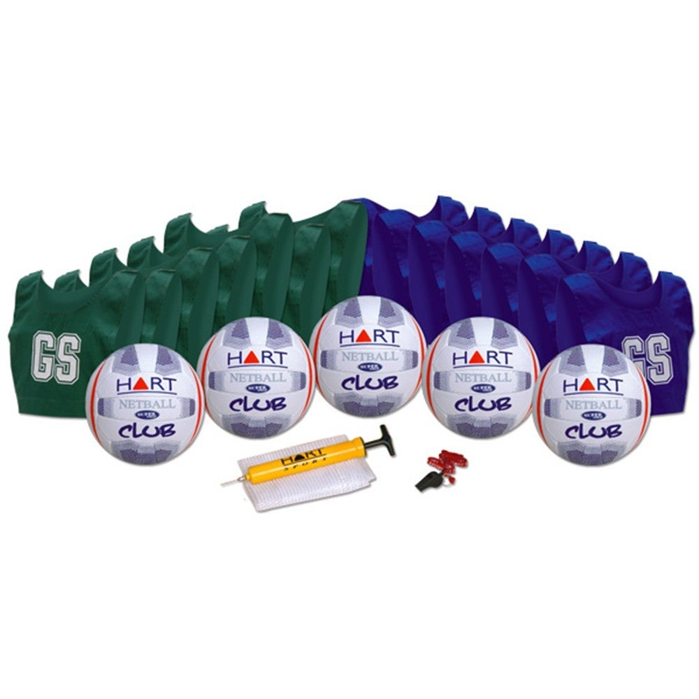 HART CLUB NETBALL KIT - MADE FOR HEAVY DUTY MATCH PLAY OR TRAINING