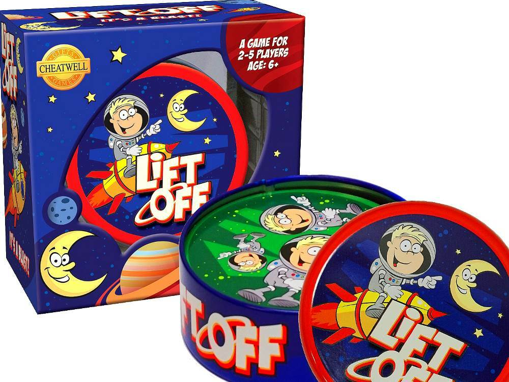 LIFT OFF CARD GAME IN TIN (CHE22314)