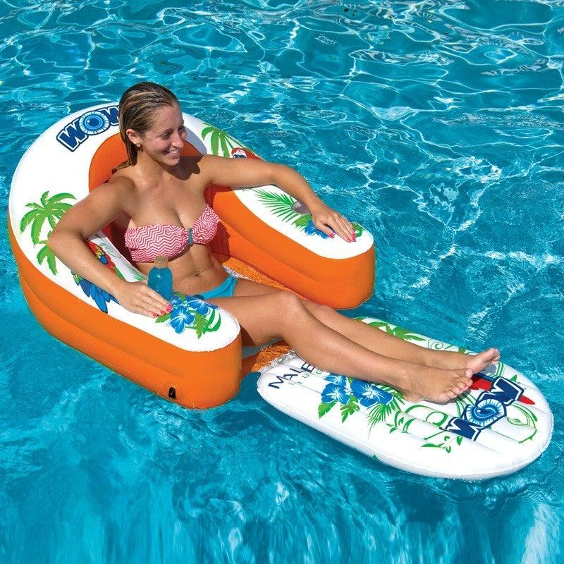 Wow Watersports Malibu Lounge Inflatable Water Tube 14-2070