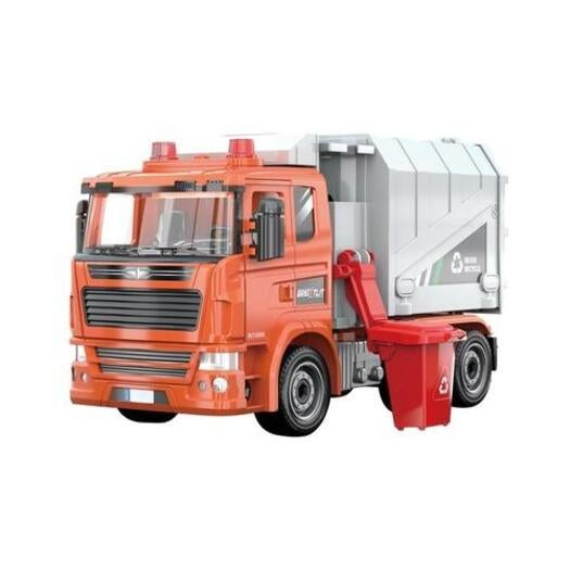 1:22 STEM Learning Construction Truck Toy DIY Assemble Garbage Truck Light Sound