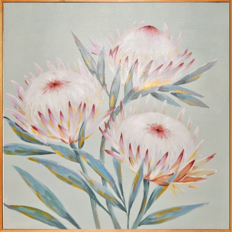 By Dezign - Protea Trio - Canvases