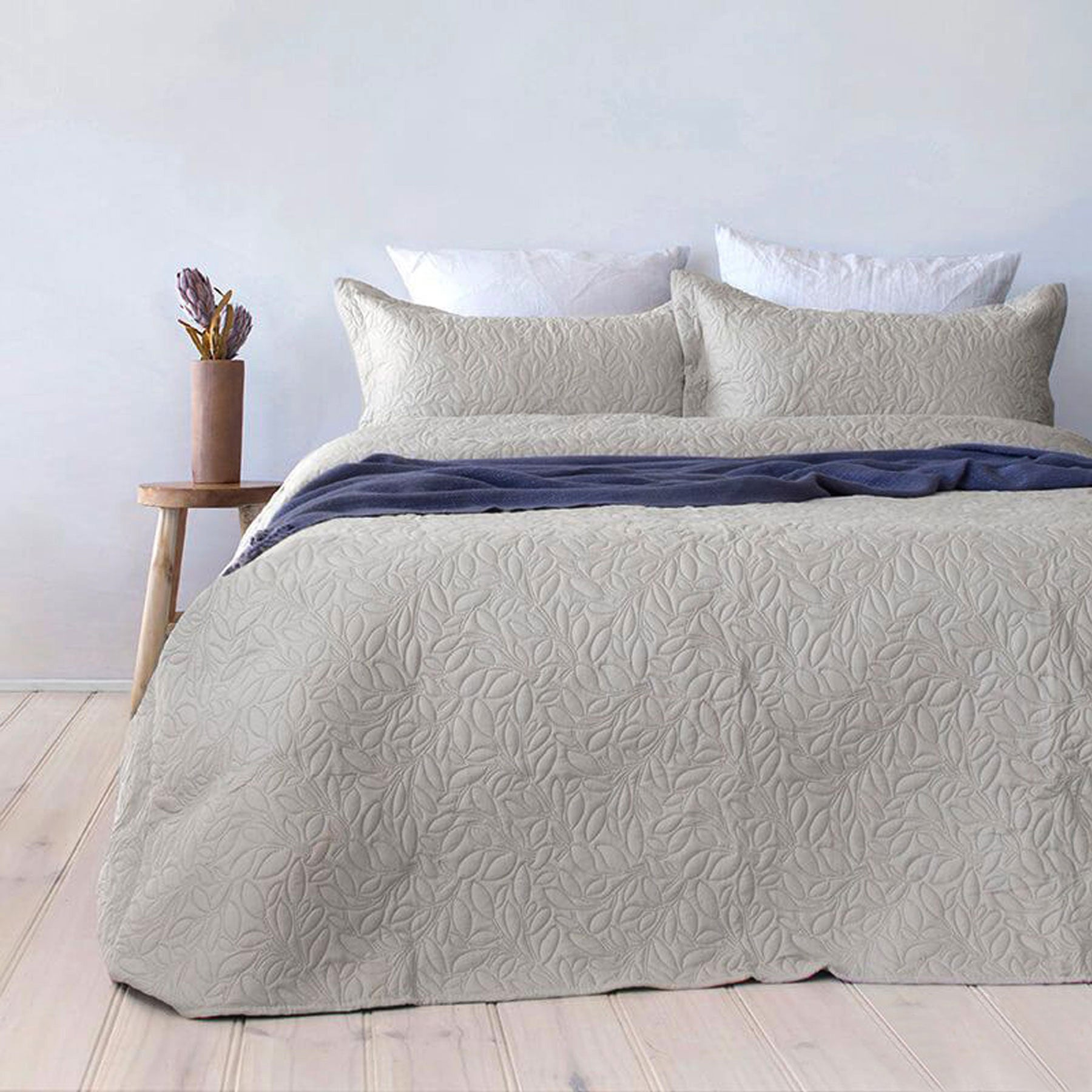 Botanica Embossed Coverlet Set Queen/King by Bambury