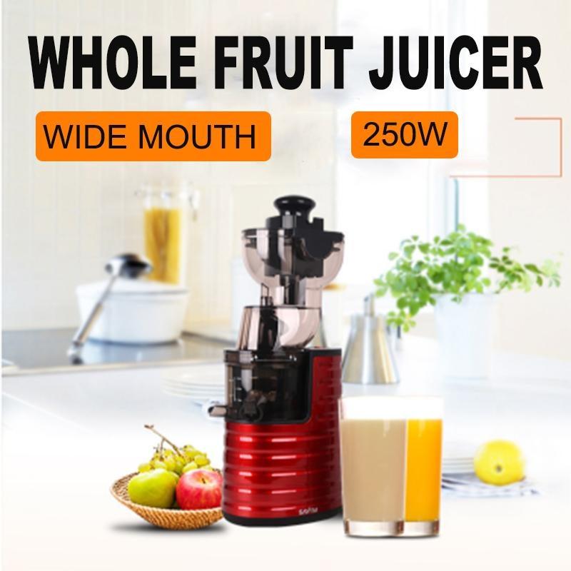Wide Mouth Cold Press Fruit Vegetable Juicer Juice Maker Processor Extractor AU