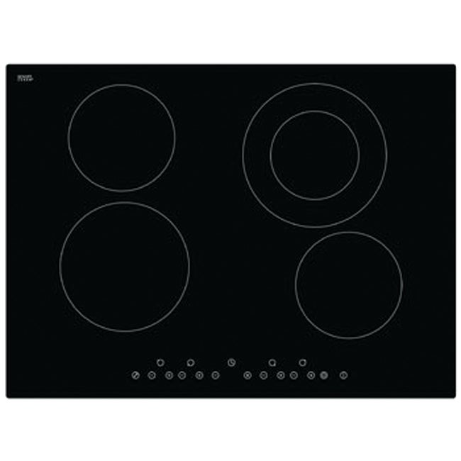 Domain Ceramic Glass Electric Cooktop with Touch Controls - 700mm
